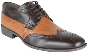Salt n Pepper Men 15 233 Brown Formal Shoes