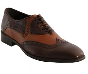 Salt n Pepper Men 16 566 Brown Formal Shoes