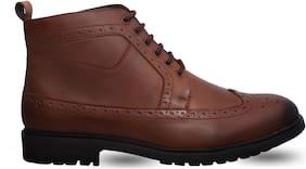 San Frissco Men's Tan Ankle Boots
