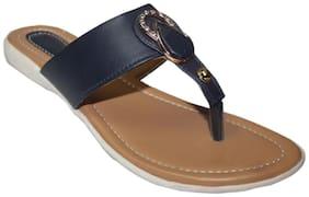 SANDALET Women Black Open Toe Flats