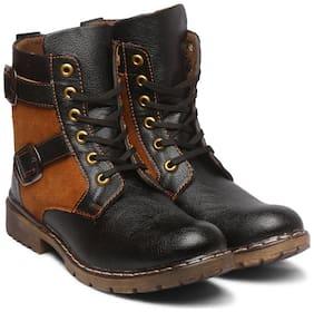 SAPIENCE Men Black Boots