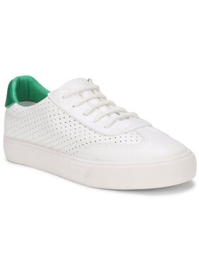 SAVE MORE Women White Sneakers