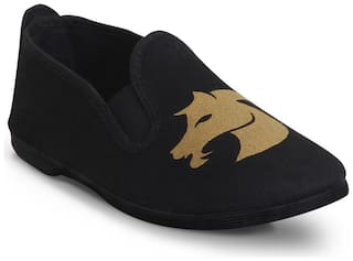 Scentra Women Black Casual Shoes