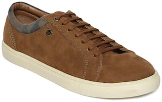 Scentra Men Tan Sneakers