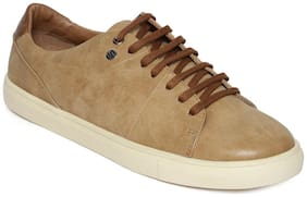 Scentra Lace Up Sneaker Beige