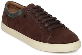 Scentra Lace Up Sneaker Dark Brown