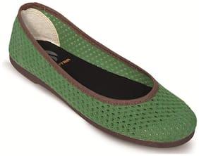 Scentra Lemon Canvas Casual Shoes