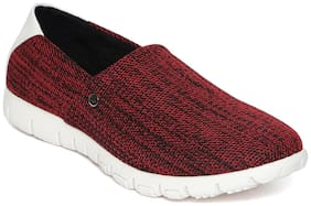 Scentra Men Red Sneakers