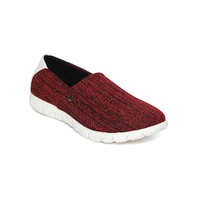 Scentra Low Top Red Sneaker