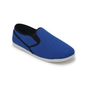 Scentra Men's Blue Casual Shoes