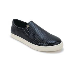 Scentra Men's Black Casual Shoes
