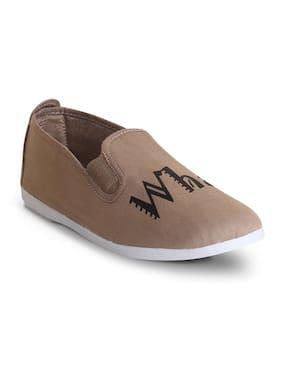 Scentra Men's Beige Casual Shoes