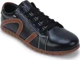 Scentra Men Black Sneakers - Surbnbl