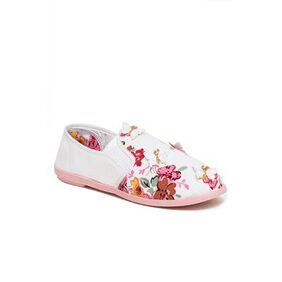 Scentra Pink Canvas Casual Shoes