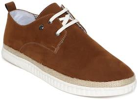 Scentra Men Brown Sneakers