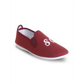 Scentra Women Maroon Casual Shoes
