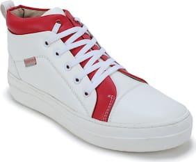 Scentra Women's White Sneakers