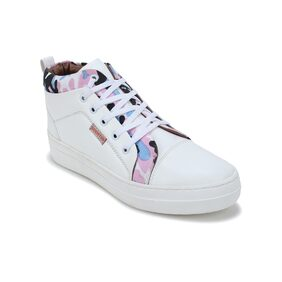 Scentra Women's White Sneakers