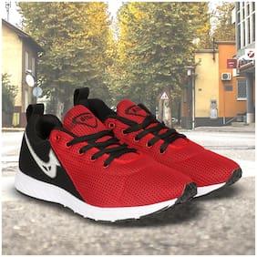 Sega Men Sega-05 Running Shoes ( Red )