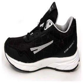 Sega Unisex Running Shoes ( Black )