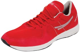 Sega Unisex Red Running Shoes