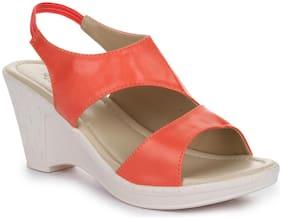 Liberty Women Orange Sandals