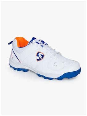 SG Men Icon 2.0 Cricket Shoes ( White )