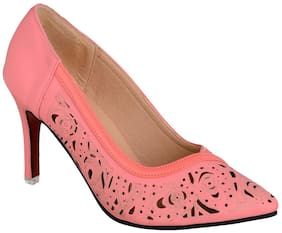 sherrif shoes Pink Stiletto Heels