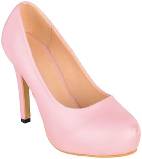SHERRIF SHOES ROUND-TOE STILETTOS