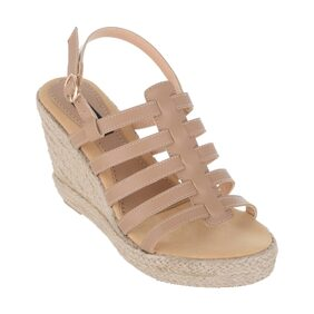 SHERRIF SHOES STRAPPY WEDGES