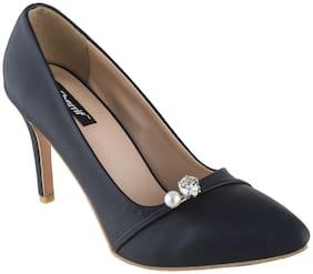 SHERRIF SHOES NAVY Stiletto Heels For Women