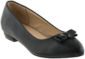 SHERRIF SHOES BLACK FLATS