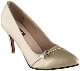 SHERRIF SHOES GOLDEN Stiletto Heels For Women
