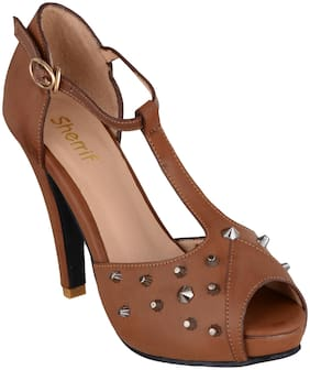 SHERRIF SHOES HIGH HEEL SANDALS