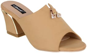 SHERRIF SHOES BLOCK HEEL MULES