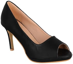 SHERRIF SHOES Black Stiletto Heels