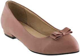 SHERRIF SHOES NUDE FLATS