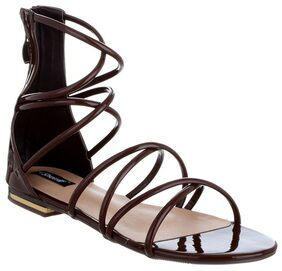 SHERRIF SHOES BROWN GLADIATORS
