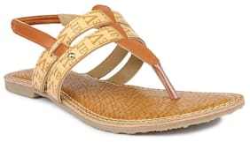 Shezone Women's Tan Flats