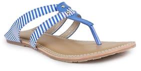 Shezone Women's Blue Flats