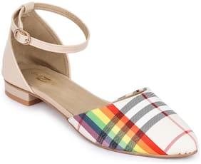 Shezone Women Multi-Color Sandals
