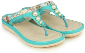 Shezone Green Slippers