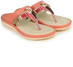 Shezone Orange Slippers