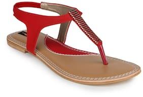 Shezone Women Black Sandals