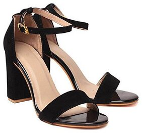 Shoe Lab Women Black Sandals