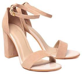 Shoe Lab Women Beige Sandals