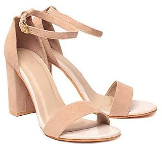 Shoe Lab Women Beige Sandals