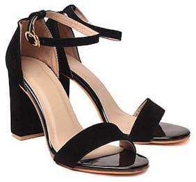 Shoe Lab Women Black Sandals