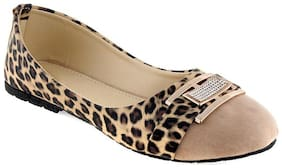 Shoe Lab Women Beige Bellie