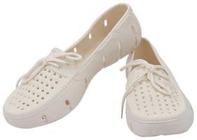 Shoe Lab Women White Bellie